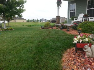 Beautiful Omaha lawn from Midwest Sprinkler