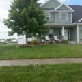 Lush, green lawn from Midwest Sprinkler